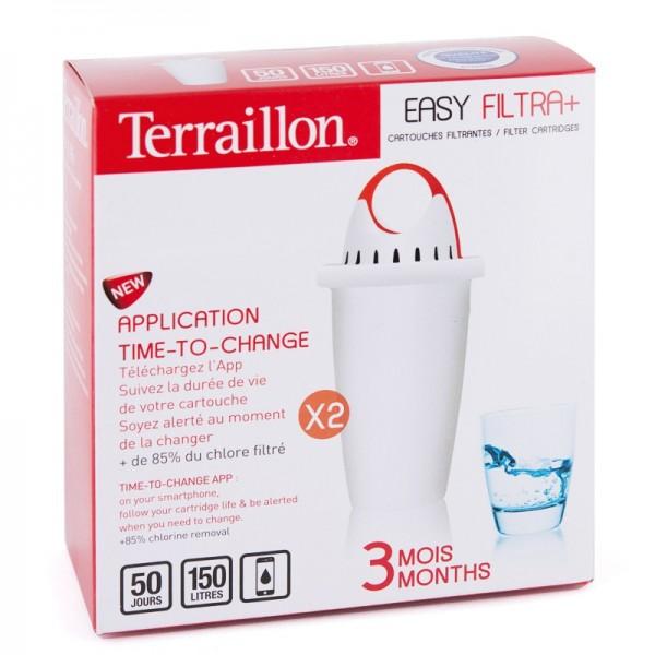 Cartouche Terraillon Filtra+