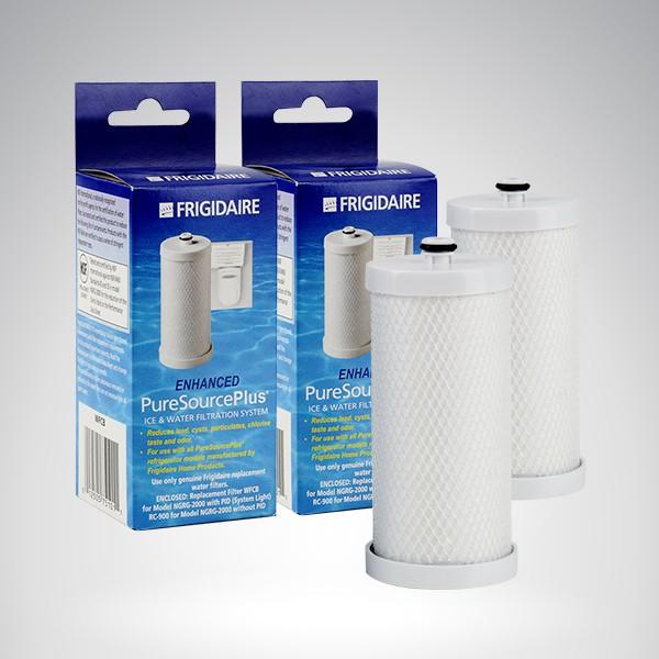 2 filtres frigidaire wfcb puresourceplus filtres frigidaire pour frigo am ricain. Black Bedroom Furniture Sets. Home Design Ideas